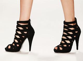 corte costura moda estilo look fashion sandalia gladiadora verão 2013 tendencia