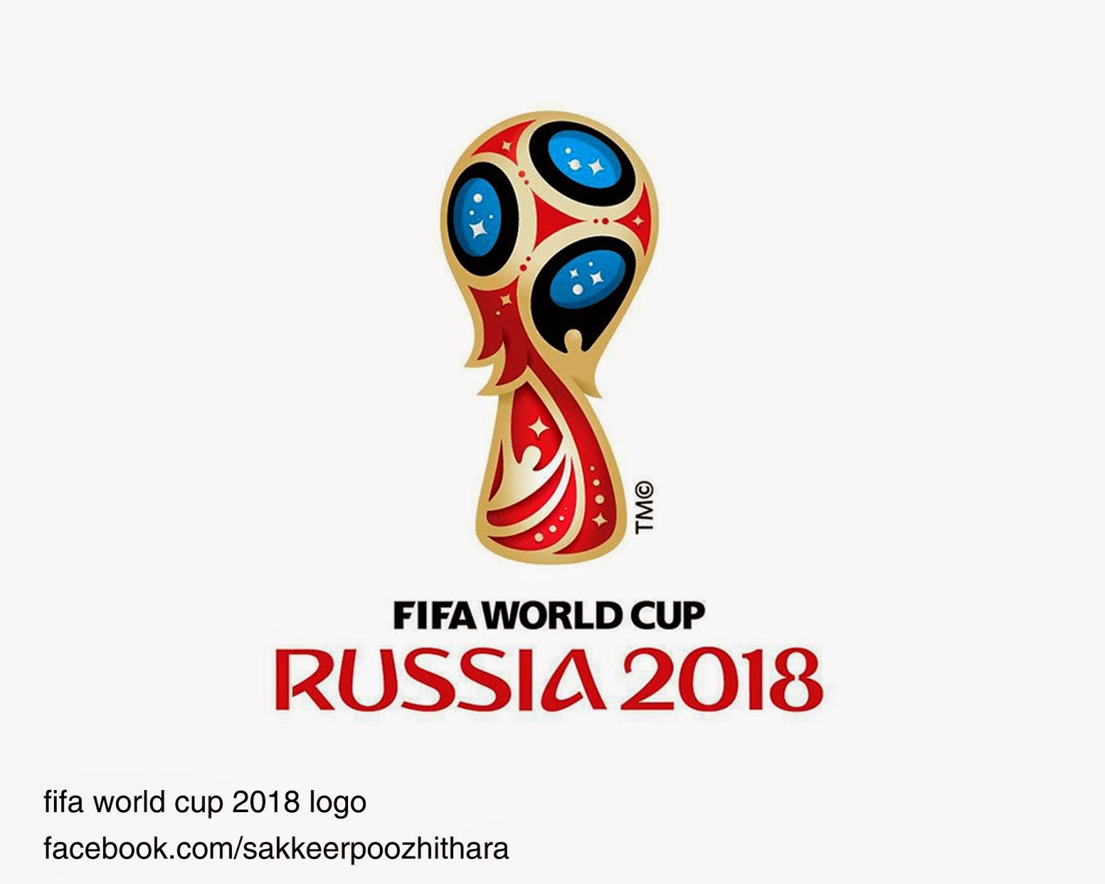 Fifa World Cup 2018 Logo Russia 2018 World Cup Logo