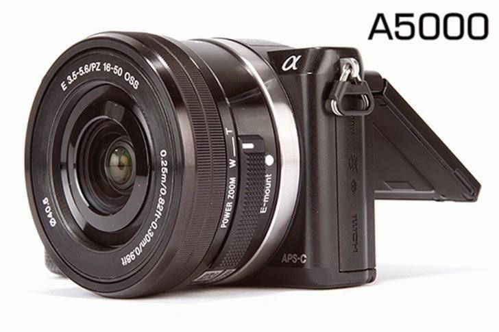 Harga & Spesifikasi Kamera Sony Alpha A5000 20MP