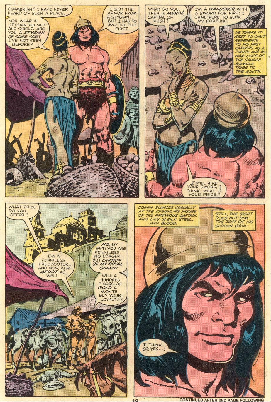 Conan the Barbarian (1970) Issue #106 #118 - English 13
