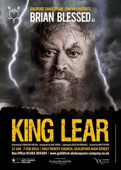 brian blessed s king lear a critical Veteran actor brian blessed collapsed on stage with a suspected heart problem as he played shakespeare's tragic hero king lear blessed, 78, had just started delivering his lines as he took to the stage at the holy trinity church in guildford, surrey, on monday night.