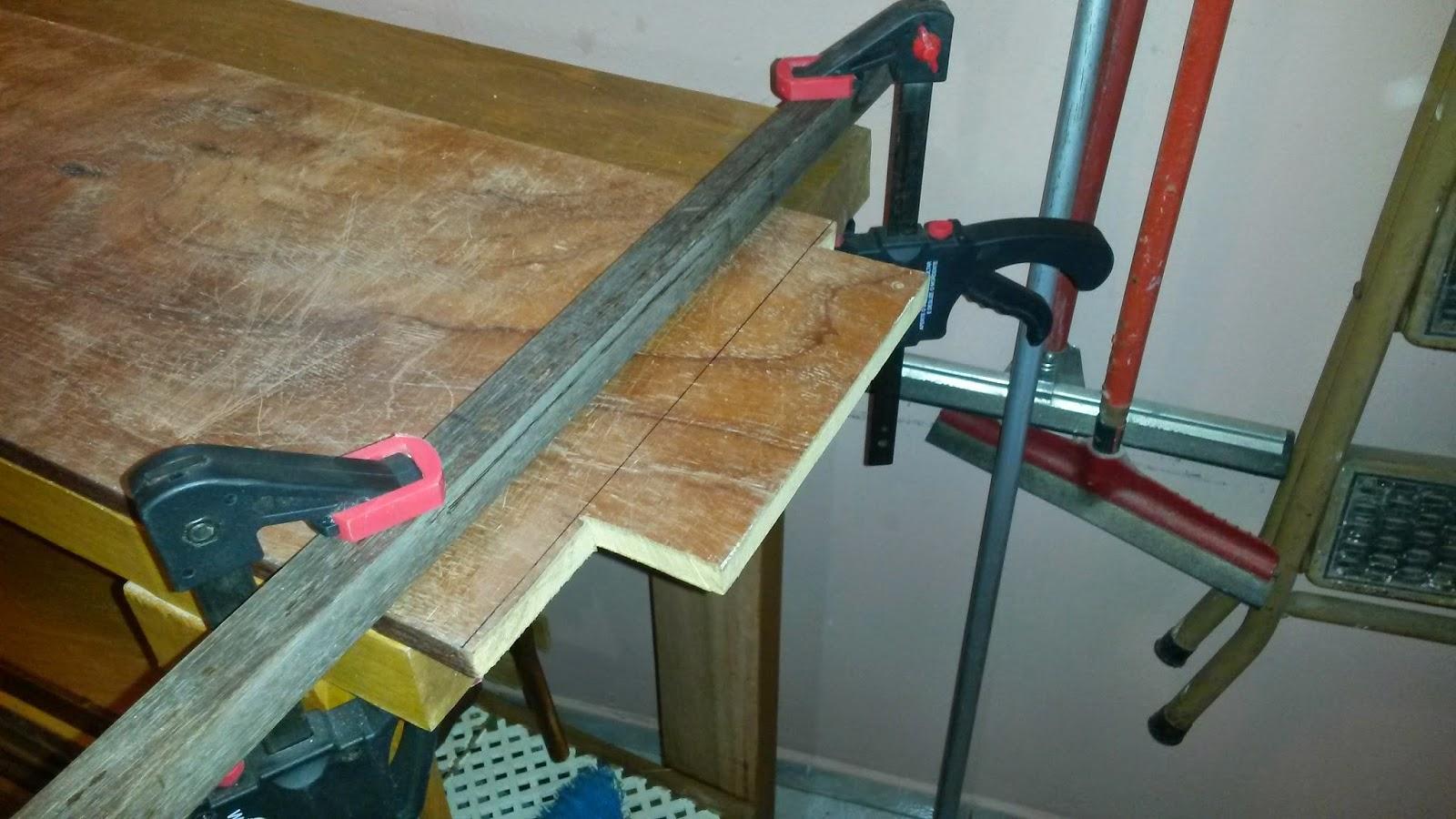 Oficina do Quintal: Como fazer um aparador com restos de madeira #214C60 1600x900