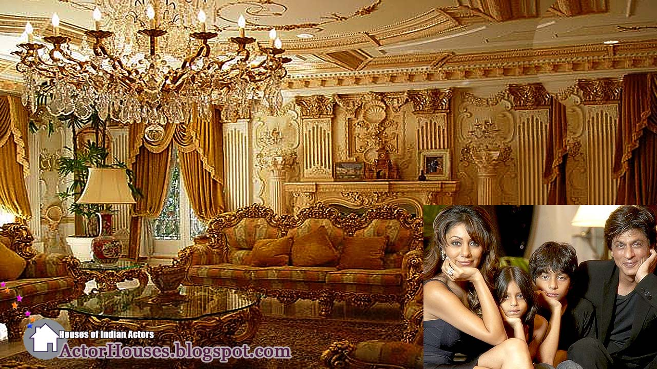 Interior Designs Of Bollywood Actor Sharukh Khan 39 S House