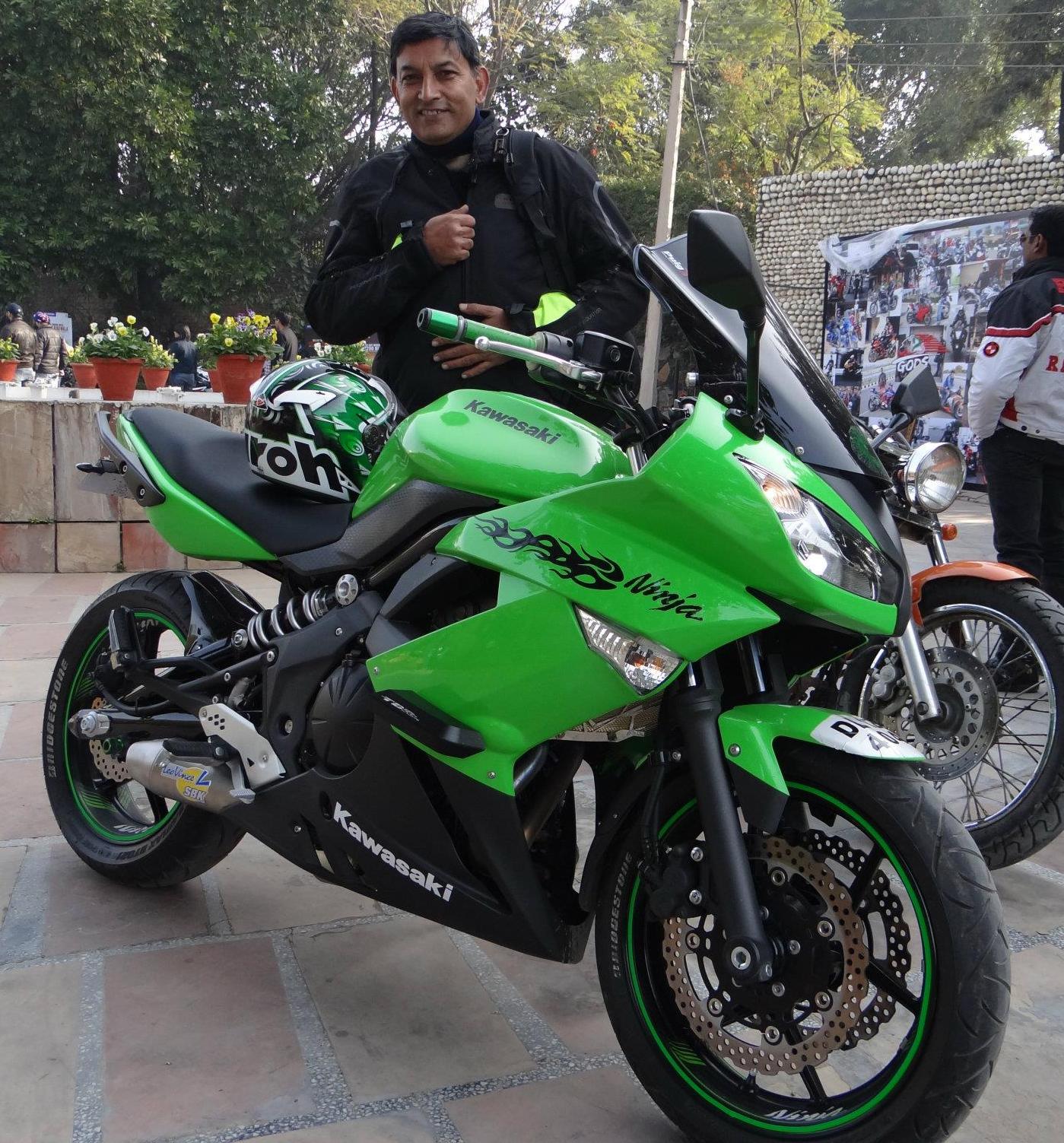 Life With A Superbike: 53. Roopak's Kawasaki Ninja 650R, 2011