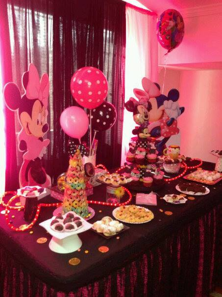 Ursula newman eventos decoracion fiesta infantil minnie for Decoracion de minnie mouse