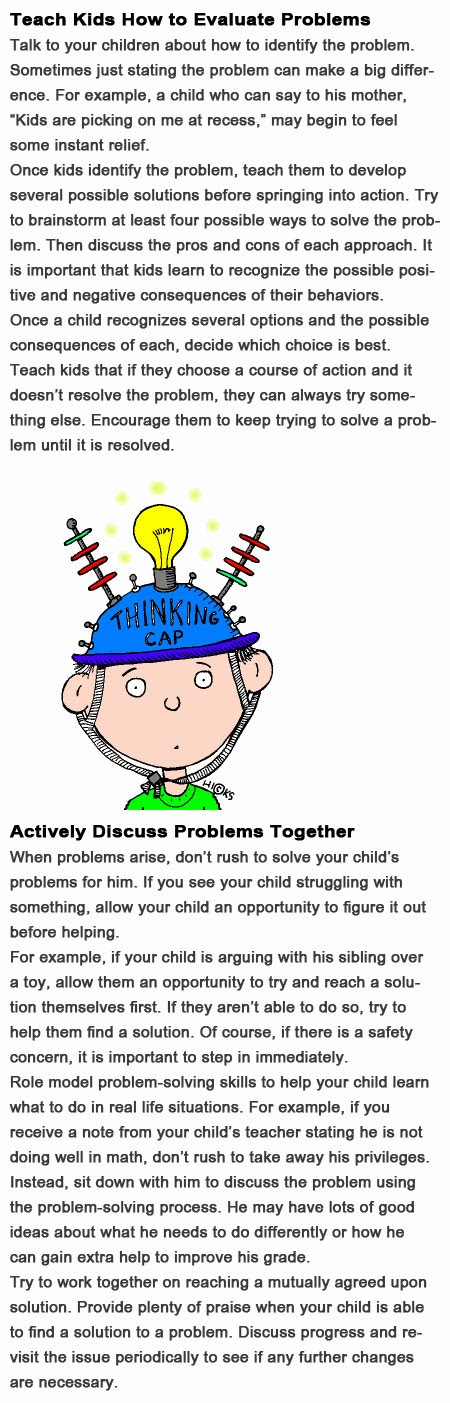 Problem solving skills for kids