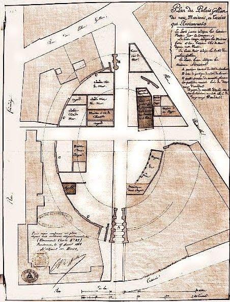 plan Palais Gallien 19s