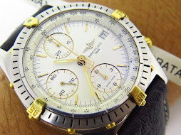 BREITLING CHRONOGRAPH WHITE DIAL - AUTOMATIC