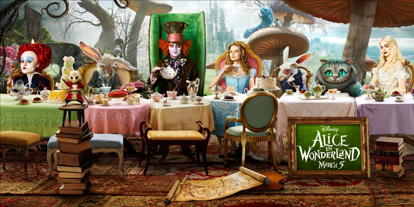 Cook Create Consume Alice in Wonderland Sweet Sixteen  : alice in wonderland from cook-create-consume.blogspot.com size 1440 x 720 jpeg 377kB