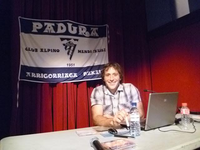 ALEX TXIKON, SOCIO DE HONOR DEL PADURA M. T.
