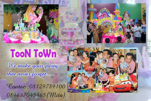 We are event planer for kids party
