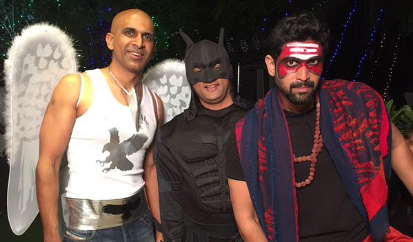 Baahubali Team Party images | Anushka | Rana | Nani | Raghavendra Rao