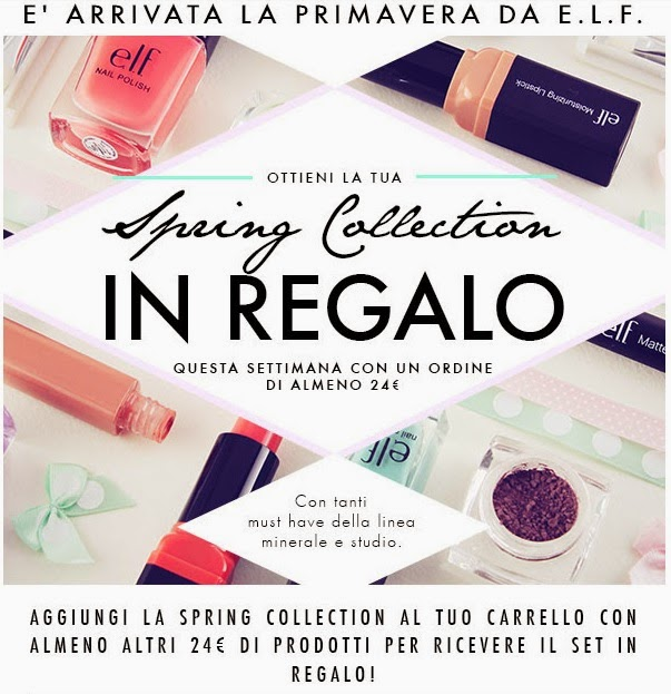 E.L.F. - Spring Collection in regalo