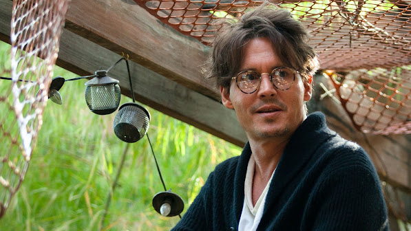 johnny depp as willcaster in transcendence movie 2014