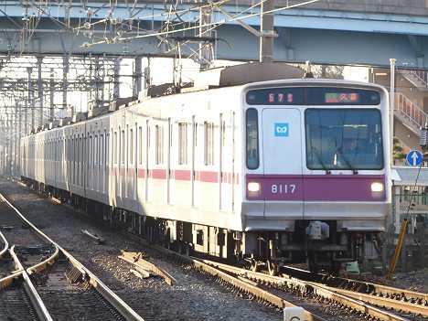 東京メトロ半蔵門線 東武伊勢崎線 準急 久喜行き1 8000系
