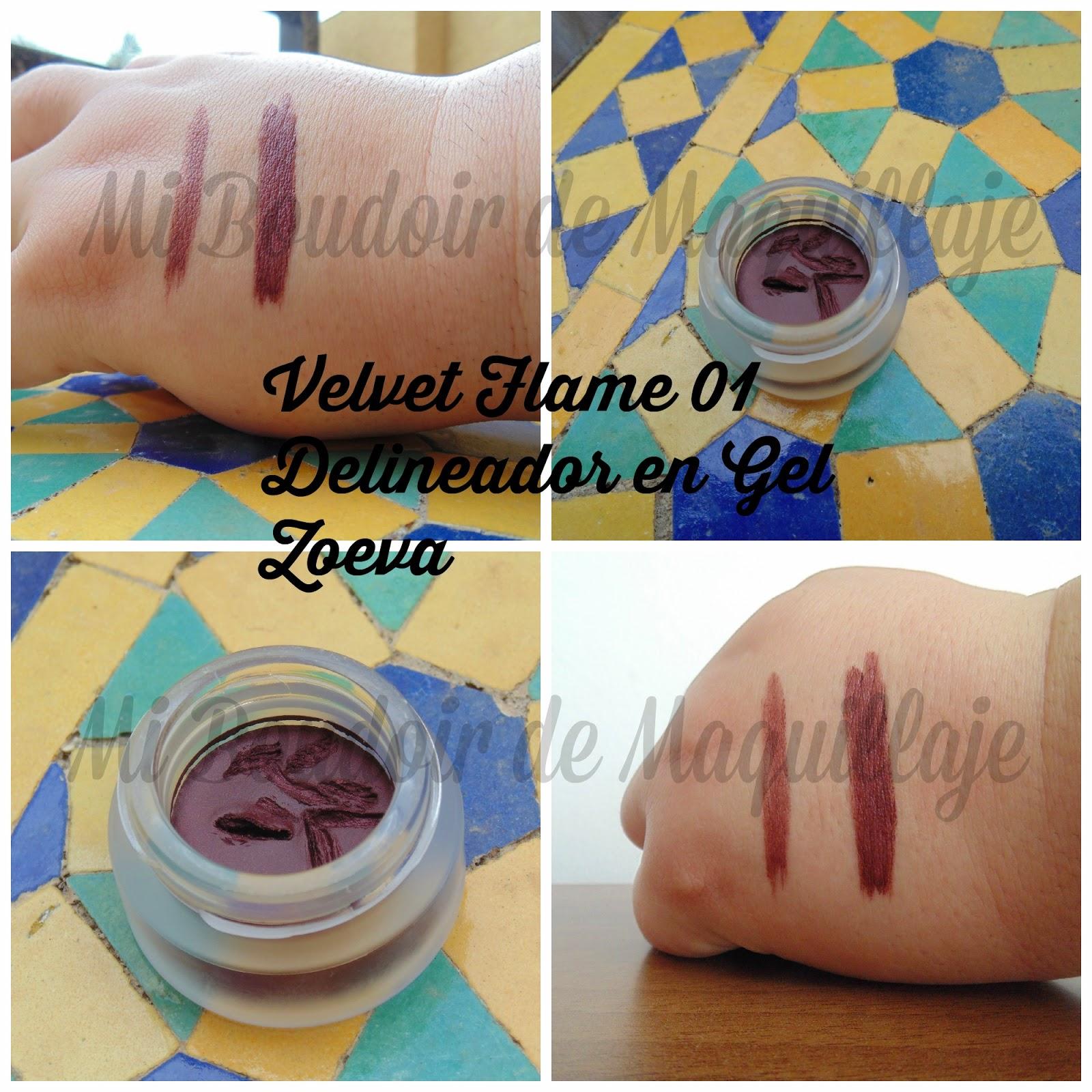 Velvet Flame Gel liner zoeva