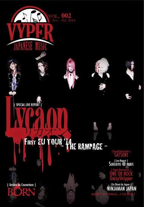 Pre-Order: VYPER Japanese Music Magazine Vol. 002