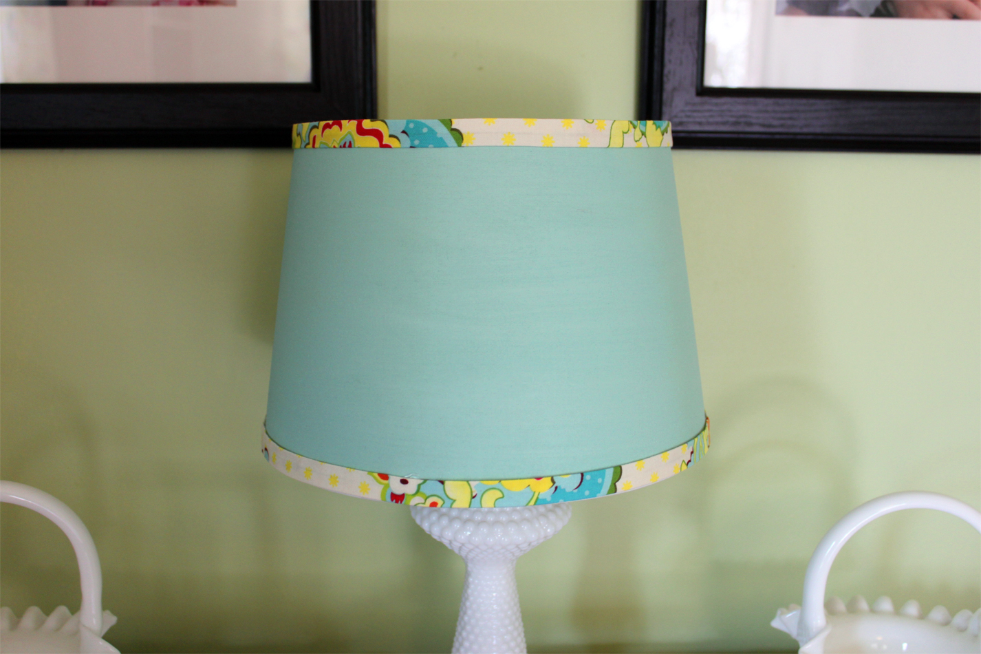 Painted Lamp Shades On There S No Place Like Homemade Pillows And A Lamp  Shade