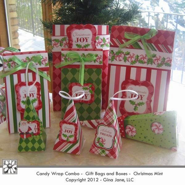 Best Seller - Peppermint Christmas Candy Wrap Combo