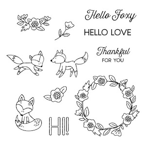 June Stamp of the Month: Hello Foxy!