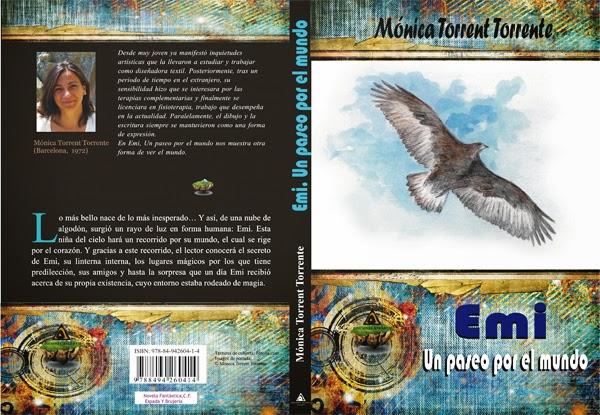 """Cubierta del libro """"Emi"""", de Mónica Torrent, Torrente"""