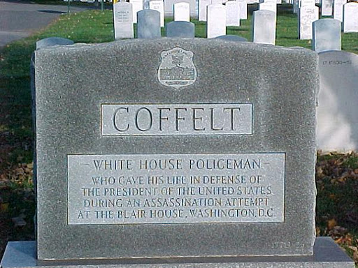 A fallen hero from 11/1/50: White House Policeman Leslie Coffelt
