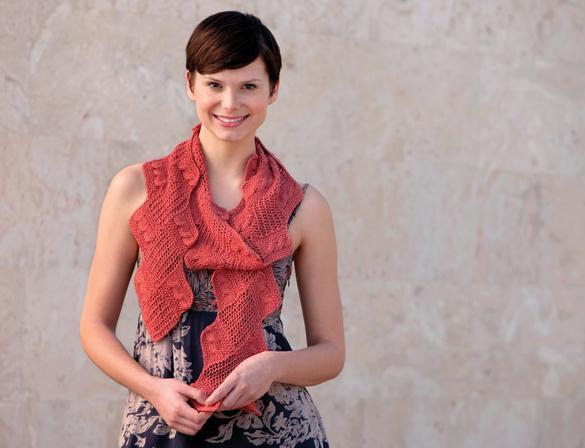 free entrelac scarves knitting patterns