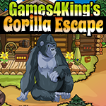 Games4King Gorilla Escape