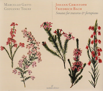 J.C.F. Bach: Sonatas for Traverso and Fortepiano