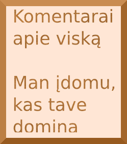Komentarai apie visk