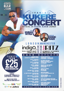 IYANYA LIVE IN LONDON & MANCHESTER!!