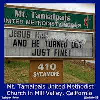 Mt. Tamalpais United Methodist Church in Mill Valley, California