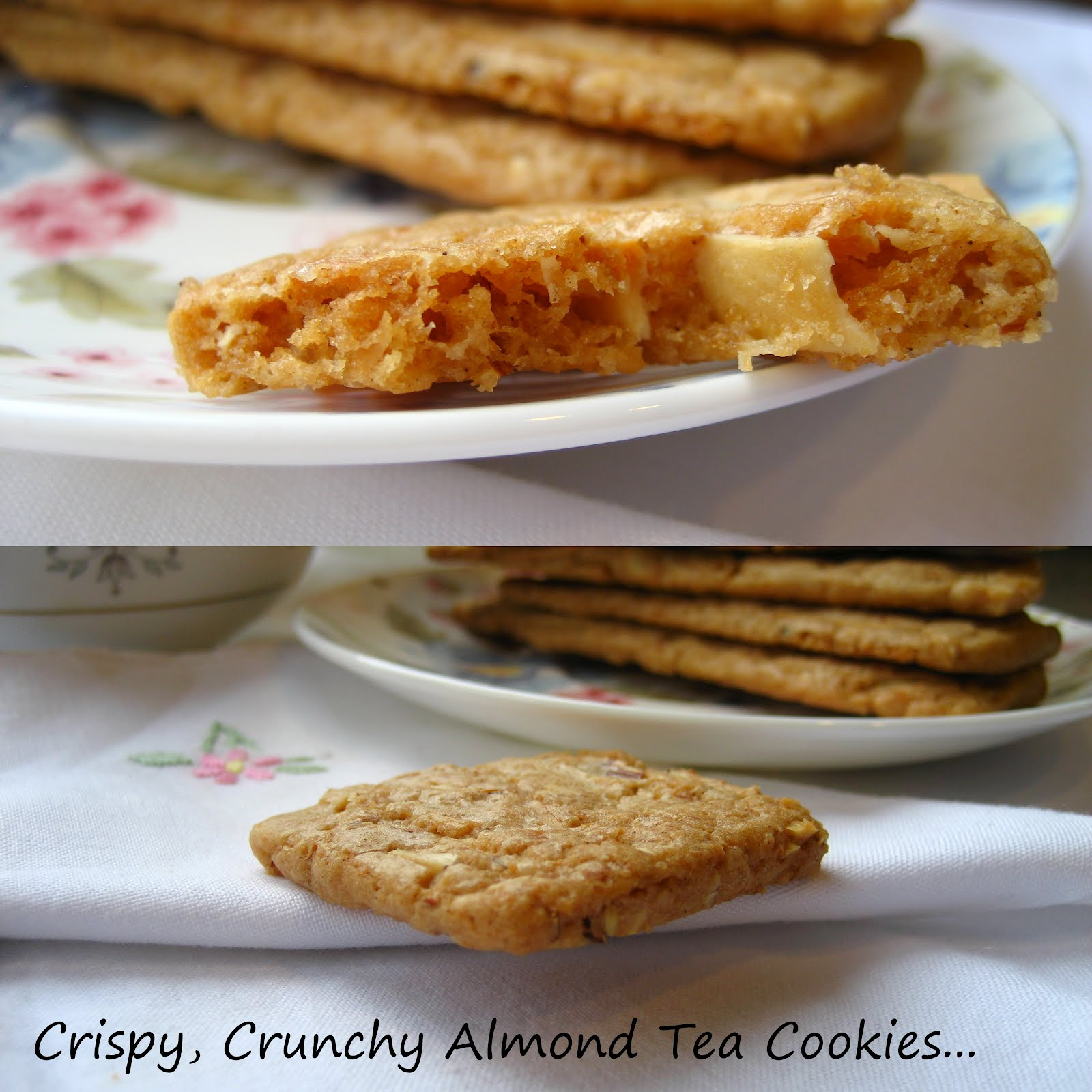 Home Cooking In Montana: Pains d'Amande... Almond Thins(Crunchy ...