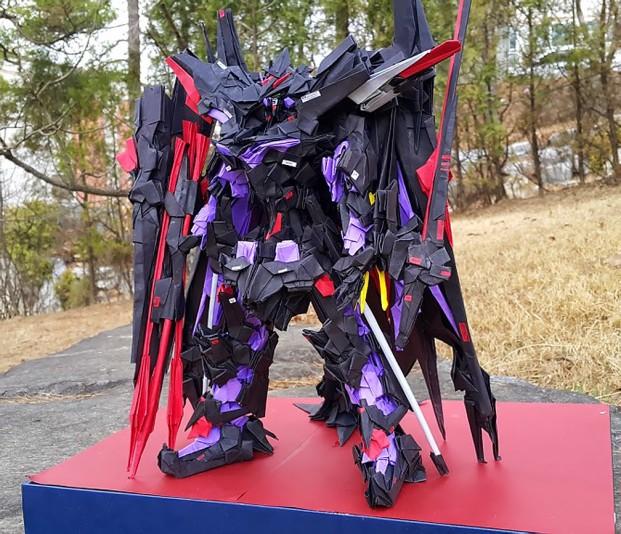 Origami Gundam Astray Gold Frame Amatsu Mina
