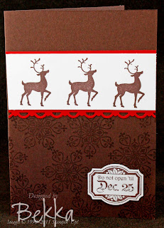 Winter Post Christmas Card