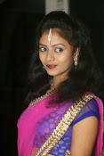 Young actress Jaya Harika in half saree-thumbnail-8
