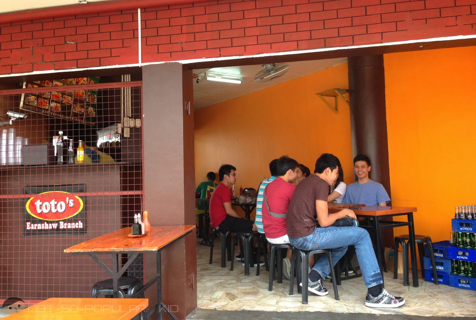 Toto's Earnshaw Branch - home of affordable -silog meals