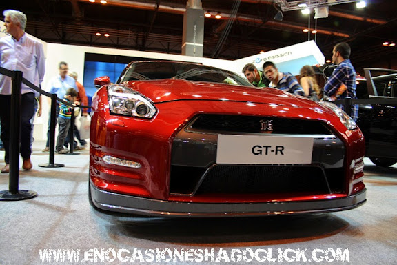 nissan gtr salon del automovil de madrid 2014