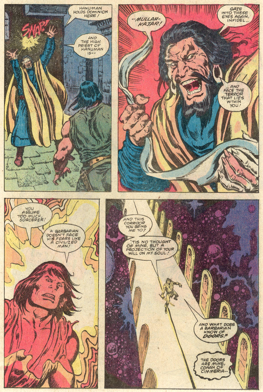 Conan the Barbarian (1970) Issue #117 #129 - English 19