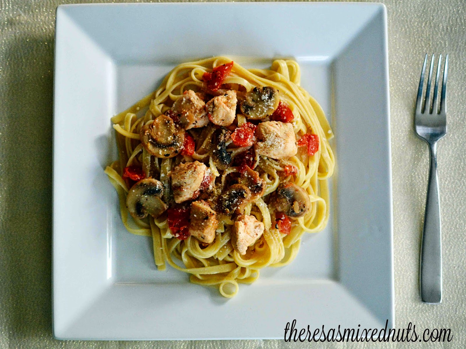 Chicken Herbs and Pasta