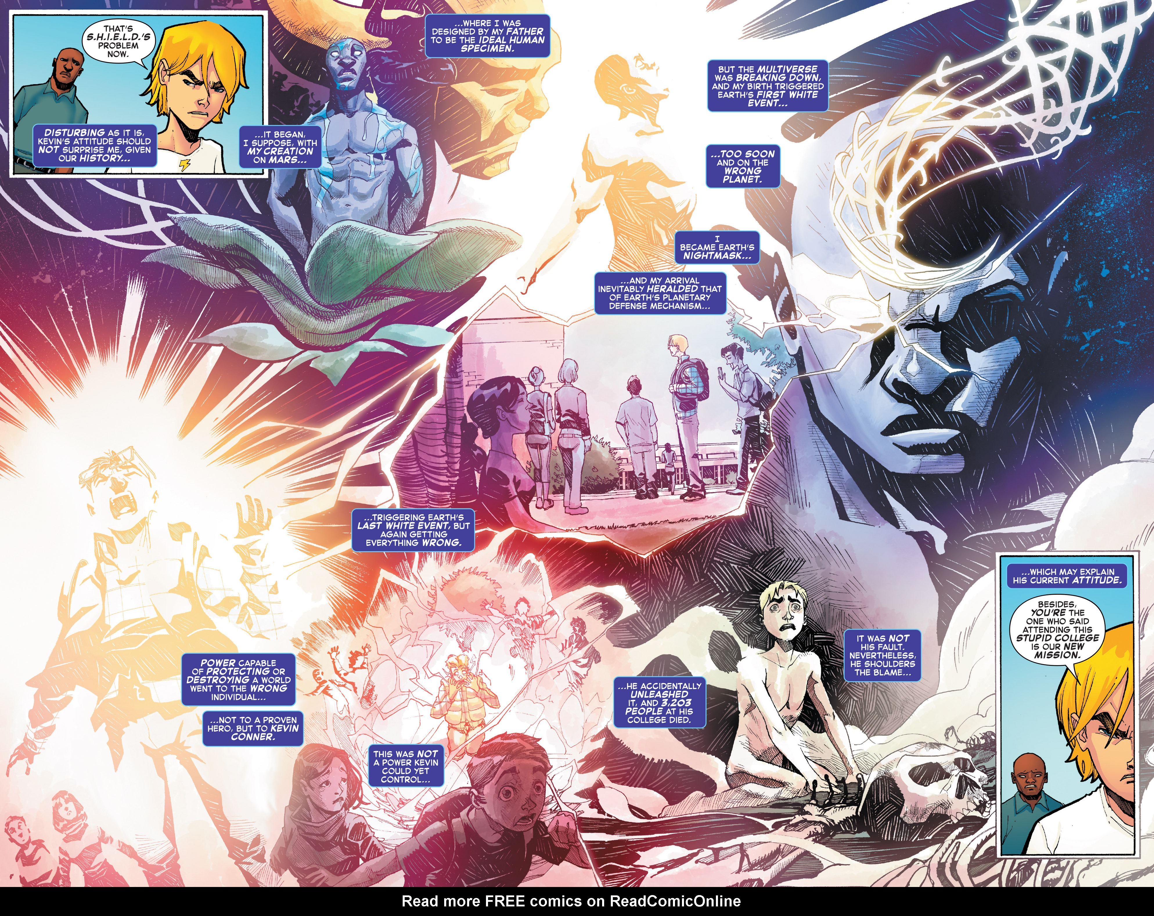 Read online Starbrand & Nightmask comic -  Issue #2 - 14