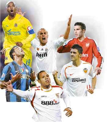 Bursa Transfer Pemain Bola Eropa Terbaru 2012