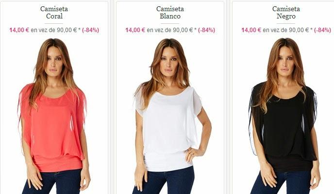 Tops para mujer a 14 euros