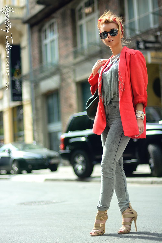 modne stylizacje na wiosnę i lato