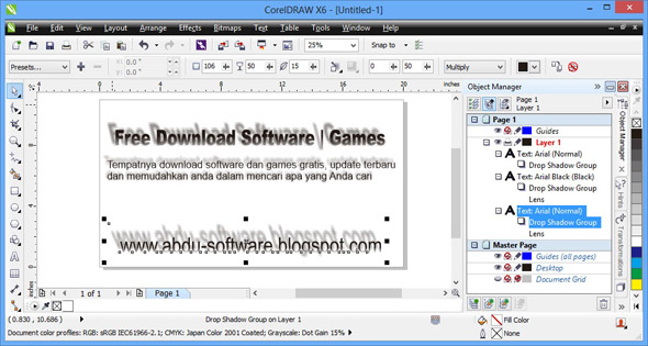 CorelDRAW® Graphics Suite X6 16.1.0.843 Update Terbaru 2013