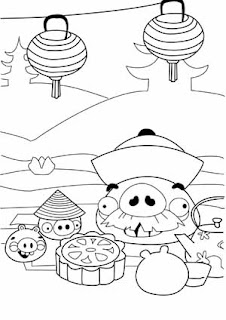 Bad Piggies coloring pages to print