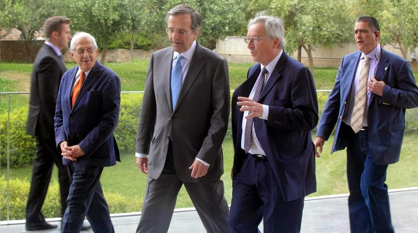 """Ο Σαμαράς """"έπεισε"""" τον Γιούνκερ για την ελληνική ανάκαμψη!"""