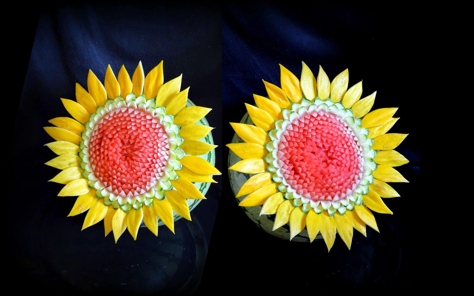 Watermelon Sunflowers
