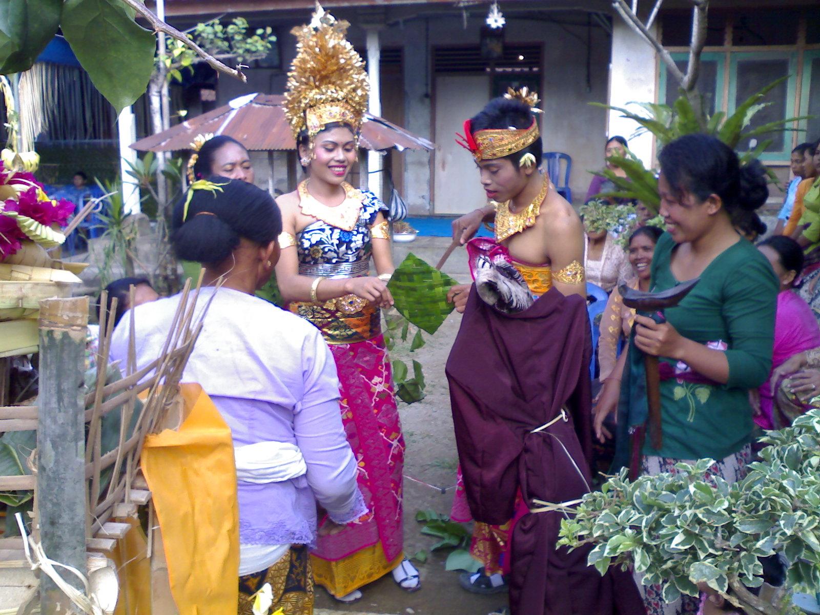 Upacara pewiwahan, Pernikahan di bali