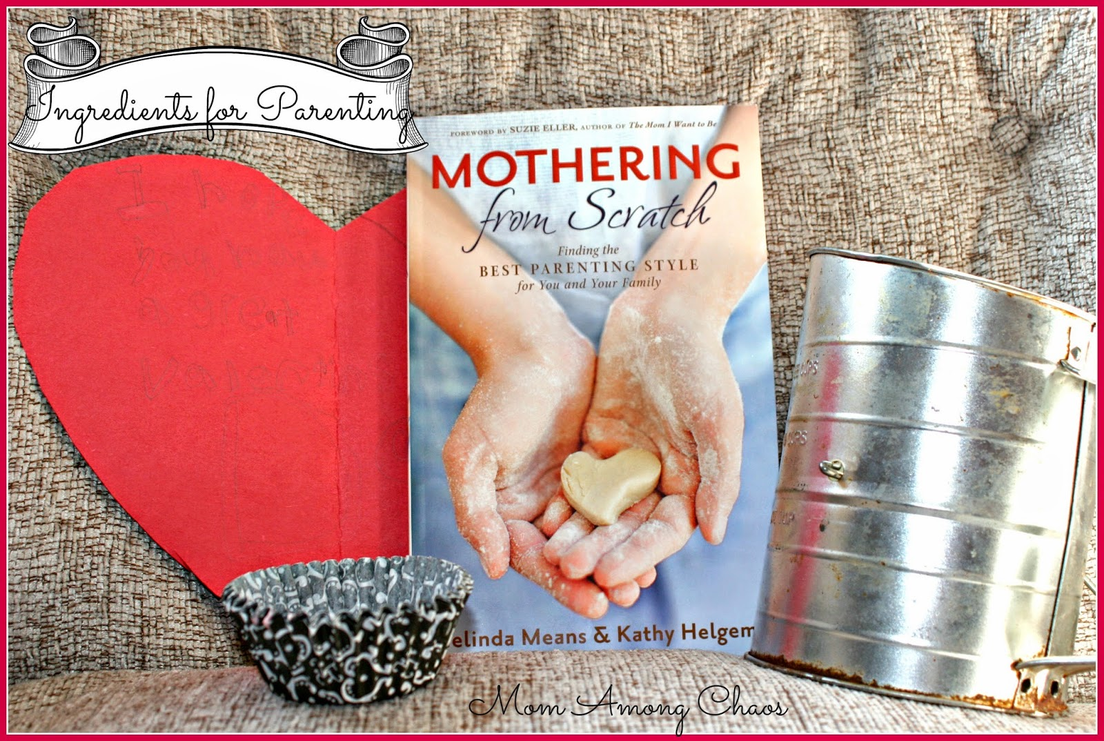 Mothering From Scratch, God, parenting, self help, advice, family christian, family, book review,